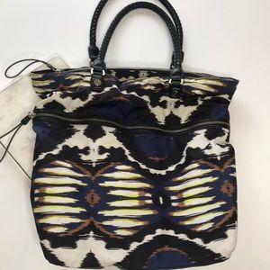L.A.M.B. freestyle Ikat Brandywell Tote
